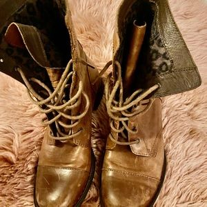 Lightly worn boots
